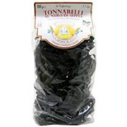 Black Tonnarelli Pasta 500g | Squid Ink  | Cuttlefish | Buy Online | Italian Food | UK